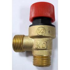 Клапан предохранительный латунь KD (MORA)