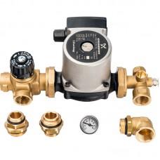 Насосно-смесительный узел с термостатическим клапаном; Grundfos UPSO 25-65 130
