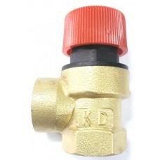 Клапан предохранительный для систем отопления ВР (1,5 бар) 1/2″ KD