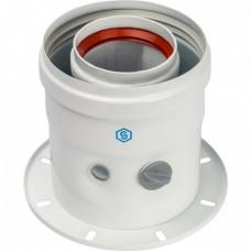 Адаптер вертикальный коаксиальный 60/100 (Bosch, Buderus)