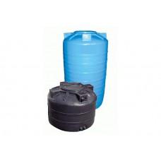 Бак д/воды ATV-1000 (синий) с поплавком (1125х1150)