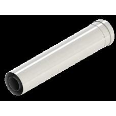 Труба коаксиальная d 60/100 мм 1,0м V